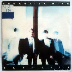 Discos de vinilo: LAGARTIJA NICK: SATÉLITE, SINGLE PROMO CBS / SONY ARLC 1239. SPAIN, 1993. VG+/VG. Lote 70141153