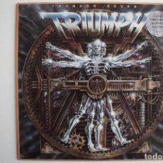 Discos de vinilo: TRIUMPH- THUNDER SEVEN- USA LP 1984 + INSERT.. Lote 70152109