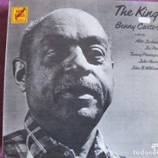 Discos de vinilo: LP - BENNY CARTER - THE KING (SPAIN, PABLO RECORDS 1977). Lote 70160557