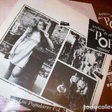 Discos de vinilo: ARCHIVO DE PLATA DEL POP ESPAÑOL (2 LP´S) KARINA - PIC-NIC - LOS PAYOS - CÁNOVAS ADOLFO Y GUZMÁN. Lote 70167601