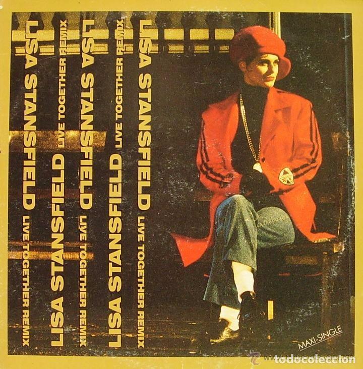 Discos de vinilo: LISA STANSFIELD Live together remix 1 MAXI-SINGLE 1989 - Foto 2 - 70170565