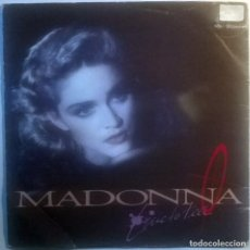 Discos de vinilo: MADONNA. LIVE TO TELL/ INSTRUMENTAL. SIRE-WEA, SPAIN 1986 (SINGLE PROMOCIONAL). Lote 70175725