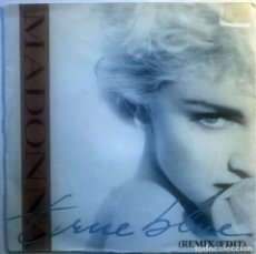 Discos de vinilo: MADONNA. TRUE BLUE/ HOLIDAY. SIRE-WEA, SPAIN 1986 (SINGLE PROMOCIONAL). Lote 70175981