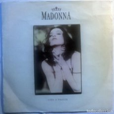 Discos de vinilo: MADONNA. LIKE A PRAYER/ ACT OF CONTRICTION. SIRE-WEA, SPAIN 1989 (SINGLE PROMOCIONAL). Lote 70176529