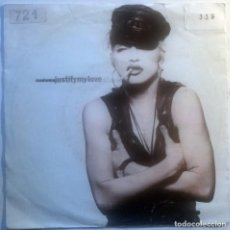 Discos de vinilo: MADONNA. JUSTIFY MY LOVE/ EXPRESS YOURSELF. SIRE-WB, GERMANY 1990 SINGLE. Lote 70176633