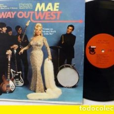 Discos de vinilo: MAE WEST - WAY OUT WEST 1966 - GARAGE PSYCH, TOWER RECORDS ST 5028, EXC. Lote 70185001