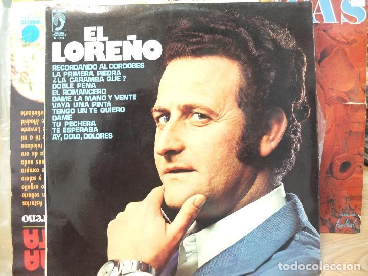 EL LOREÑO -LP (Música - Discos - LP Vinilo - Flamenco, Canción española y Cuplé)