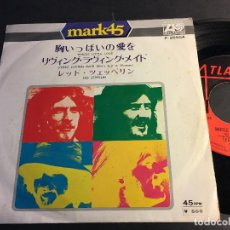 Discos de vinilo: LED ZEPPELIN (WHOLE LOTTA LOVE / LIVING LOVING MAID) SINGLE JAPAN P-2550A (EPI3). Lote 70213265