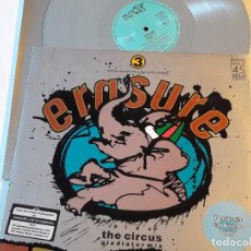 Discos de vinilo: ERASURE - THE CIRCUS (GLADIATOR MIX) - 1987. Lote 70214933