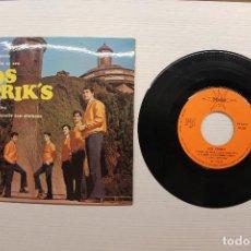 Discos de vinilo: SINGLE LOS STRIKS, MASSACHUSETTS. Lote 70229569