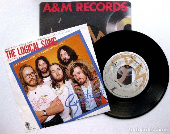 SUPERTRAMP - THE LOGICAL SONG - SINGLE A&M RECORDS 1979 JAPAN (EDICIÓN JAPONESA) BPY (Música - Discos - Singles Vinilo - Pop - Rock - Extranjero de los 70)
