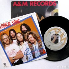 Discos de vinilo: SUPERTRAMP - THE LOGICAL SONG - SINGLE A&M RECORDS 1979 JAPAN (EDICIÓN JAPONESA) BPY. Lote 70230833