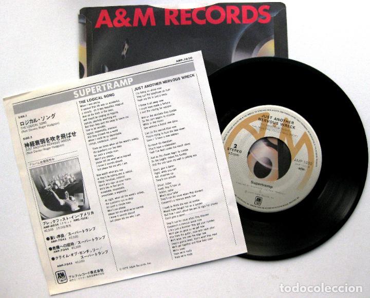 Discos de vinilo: Supertramp - The Logical Song - Single A&M Records 1979 Japan (Edición Japonesa) BPY - Foto 2 - 70230833