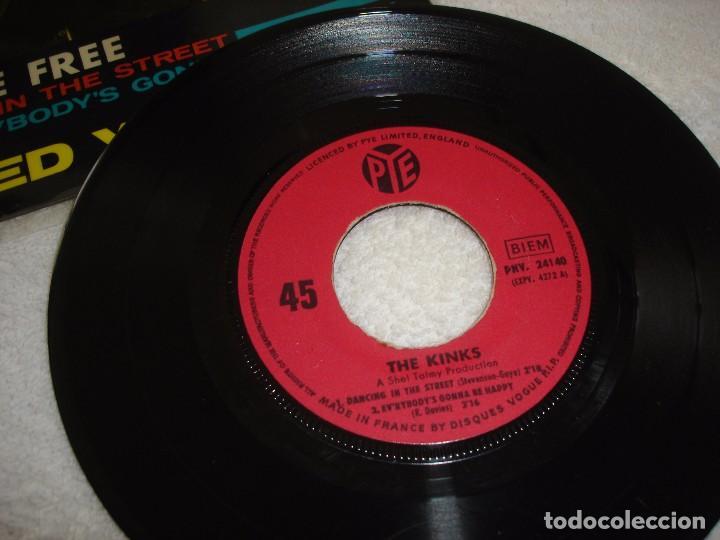 Discos de vinilo: KINKS: SET ME FREE +3 - EP. PYE 1965 (MADE IN FRANCE) - Foto 3 - 74758198