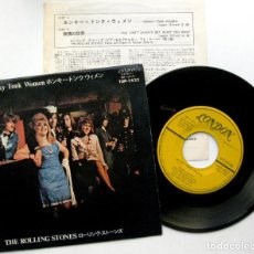 Discos de vinilo: THE ROLLING STONES - HONKY TONK WOMEN - SINGLE LONDON RECORDS 1969 JAPAN (EDICION JAPONESA) BPY. Lote 70249381