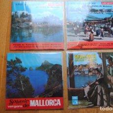 Discos de vinilo: COMPLETA COLECCIÓN DE 21 EP'S MÚSICA FOLKLÓRICA Y DANZAS DE MALLORCA. BUEN ESTADO. Lote 70256949