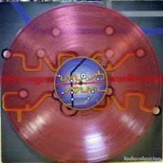 Discos de vinilo: ZICKY IL GIULLARE - MADNESS MIX / PEACE MIX / SANDRO VIBOT MIX / DAVIS MIX - VINILO ROSA. Lote 70266521