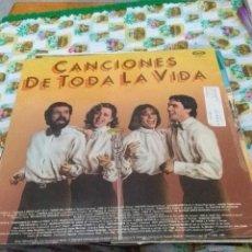 Discos de vinilo: PEQUEÑA COMPAÑIA. TANGOS A MEDIALUZ. CANCIONES DE TODA LA VIDA. C8V. Lote 70273901