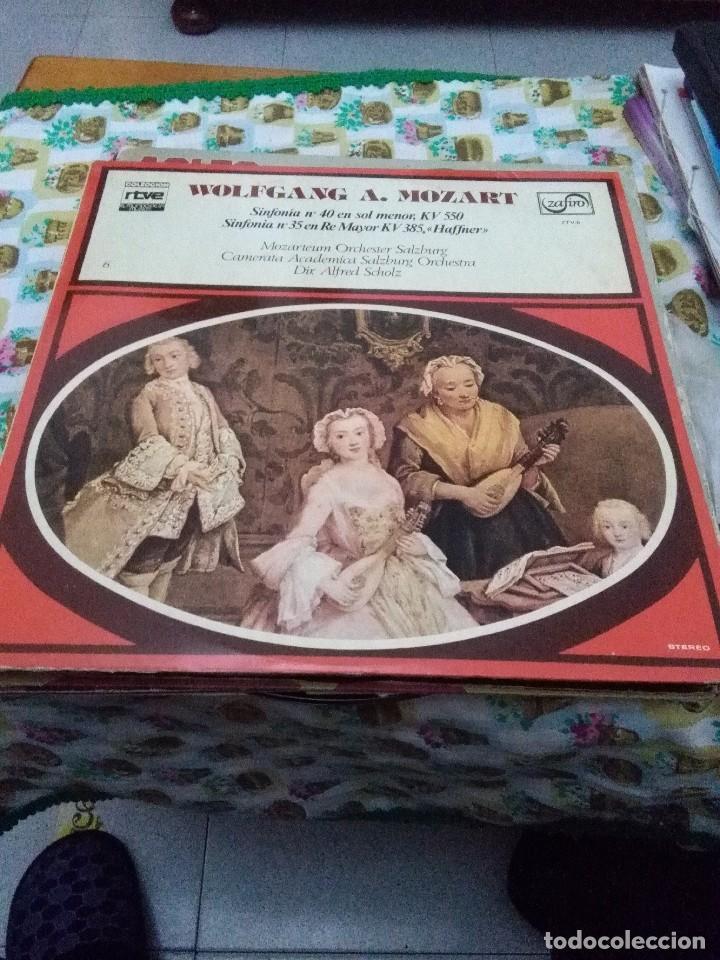WOLFGANG A. MOZART. SINFONÍA Nº 40 EN SOL MENOR. KV 550. C8V (Música - Discos - LP Vinilo - Clásica, Ópera, Zarzuela y Marchas)