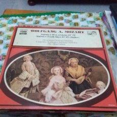 Discos de vinilo: WOLFGANG A. MOZART. SINFONÍA Nº 40 EN SOL MENOR. KV 550. C8V. Lote 70275189