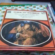 Discos de vinilo: LUDWIG VAN BEETHOVEN. CONCIERTO PARA VIOLÍN Y ORQUESTA EN RE MAYOR. OP. 61. C8V. Lote 70275285