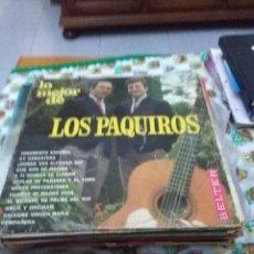 Discos de vinilo: LO MEJOR DE LOS PAQUIROS. C8V. Lote 70276861