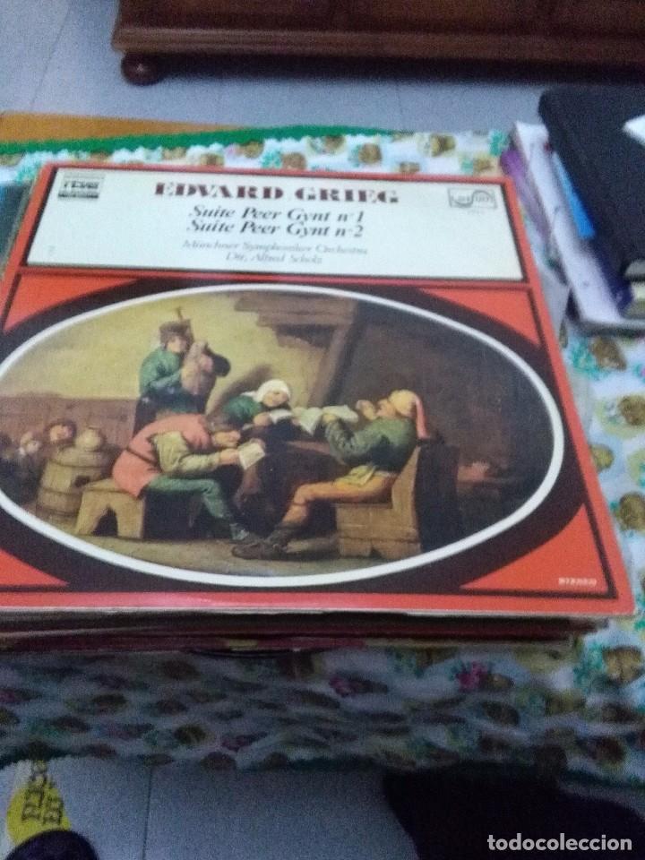 EDVARD GRIEG. SUITE PEER GYNT Nº 1. Nº 2. C8V (Música - Discos - LP Vinilo - Clásica, Ópera, Zarzuela y Marchas)