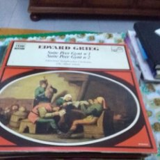 Discos de vinilo: EDVARD GRIEG. SUITE PEER GYNT Nº 1. Nº 2. C8V. Lote 70277381