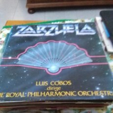 Discos de vinilo: ZARZUELA. LUIS COBOS DIRIGE THE ROYAL PHILHARMONIC ORCHESTRA. C8V. Lote 70279081