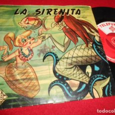 Discos de vinil: LA SIRENITA CUENTO CUADRO ARTISTICO ESTUDIOS PAR MADRID EP 195? TELEFUNKEN INFANTIL ESPAÑA. Lote 70283461