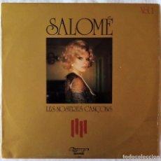 Discos de vinilo: SALOME, LES NOSTRES CANÇONS (OLYMPO) LP. Lote 70288773