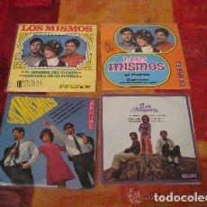 Discos de vinilo: LOTE 2 EP + 2 SINGLE 45 RPM / LOS MISMOS /// EDITADO POR BELTER -ORLADOR. Lote 70296029