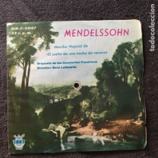 Discos de vinilo: FLEXI 33 RPM MENDELSSOHN. Lote 70296526