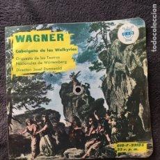 Discos de vinilo: FLEXI 33 RPM WAGNER CABALGATA DE LAS WALKYRIAS. Lote 70296650