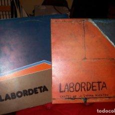 Discos de vinilo: JOSE ANTONIO LABORDETA: CANTES DE LA TIERRA ADENTRO Y TIEMPO DE ESPERA. Lote 70303913