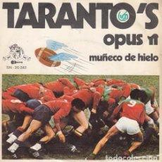 Discos de vinilo: TARANTO'S - OPUS PI SPANISH TOP LATIN FUNK SOUL SINGLE 45 SPAIN 1970 GUITARRA - PEKENIKES. Lote 70316761