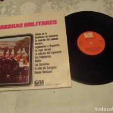 Discos de vinilo: LP MARCHAS MILITARES (GM GRAMUSIC 1971). Lote 70322822