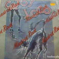 Discos de vinilo: GATOS LOCOS. PRENDE UNA VELA POR MÍ. GRABACIONES ACCIDENTALES GA-079 LP 1986 SPAIN. Lote 70354157