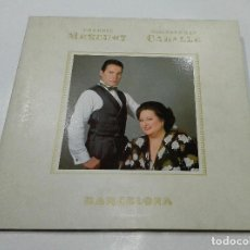 Discos de vinilo: FREDDIE MERCURY & MONTSERRAT CABALLE *** BARCELONA. Lote 70369153