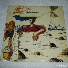 Discos de vinilo: CUARTO MENGUANTE - ROMPEHIELOS (ROCK ANDALUZ) - LP. MOVIE PLAY 1980. Lote 154877676
