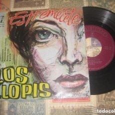 Discos de vinilo: LOS LLOPIS *ESTREMECETE +3 EP DE 4 CANCIONES (ZAFIRO 1960) OG ESPAÑA. Lote 70421037