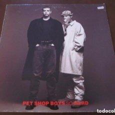Discos de vinilo: PET SHOP BOYS - SO HARD MAXI EN VINILO.. Lote 117989628