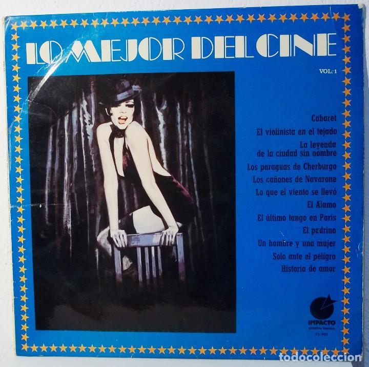 LO MEJOR DEL CINE VOL. 1 - ORQUESTA HERMAN HELMER - LP (Música - Discos de Vinilo - EPs - Bandas Sonoras y Actores)