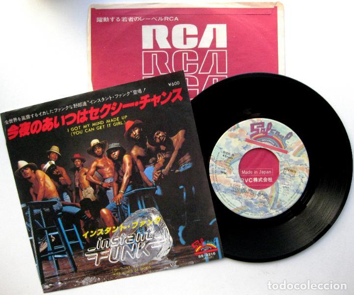 INSTANT FUNK - I GOT MY MIND MADE UP - SINGLE SALSOUL RECORDS 1979 JAPAN (EDICION JAPONESA) BPY (Música - Discos - Singles Vinilo - Funk, Soul y Black Music)