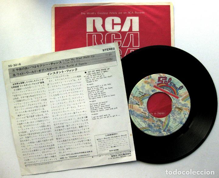 Discos de vinilo: Instant Funk - I Got My Mind Made Up - Single Salsoul Records 1979 Japan (Edicion Japonesa) BPY - Foto 2 - 70450437