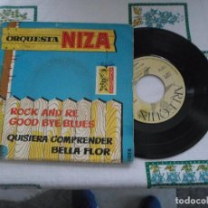 Discos de vinilo: ORQUESTA NIÑA ROCK AND RE GOOD BYE BLUES. Lote 70456569