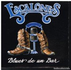 Discos de vinilo: ESCALONES - BLUES DE UN BAR - SINGLE 1992 - PROMO. Lote 70457865