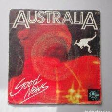 Discos de vinilo: AUSTRALIA GOOD NEWS. Lote 70468185