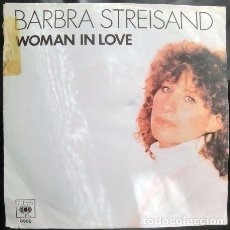 Discos de vinilo: BARBRA STREISAND WOMAN IN LOVE. Lote 70469329
