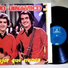 Discos de vinilo: DISCO LP, VINILO, DUO DINAMICO, MEJOR QUE NUNCA, 062-093-821, EMI ODEON, 1982. Lote 70469469